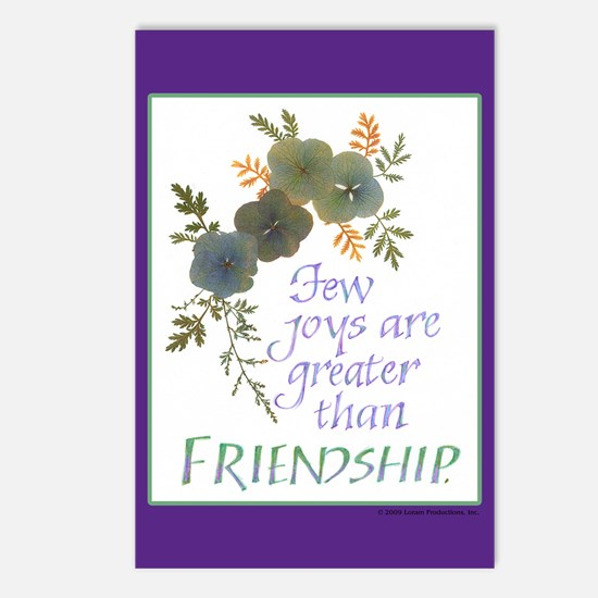 Friendship - Postcards (Package of 8)
