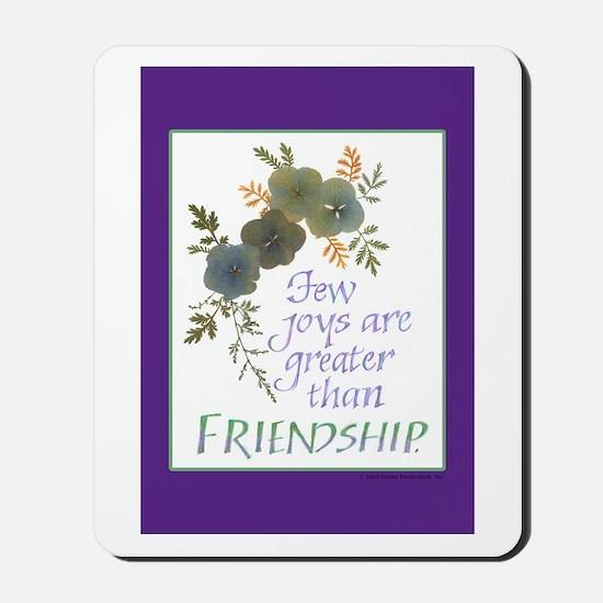 Friendship - Mousepad