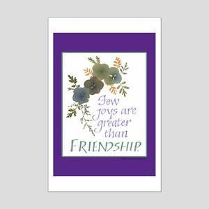 Friendship - Mini Poster Print