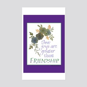 Friendship - Sticker (Rectangle)