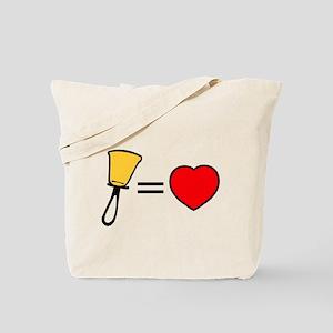Bells Are Love Tote Bag