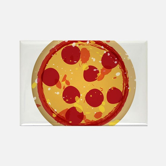 Pizza by Joe Monica Rectangle Magnet (10 pack)