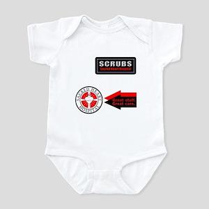 Scrubs Sacred Heart Infant Bodysuit