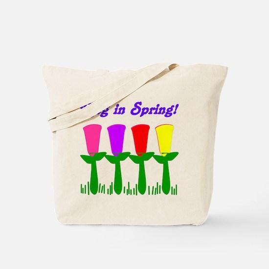Ring in Spring Tote Bag