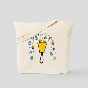 Easter Egg Fountain Tote Bag
