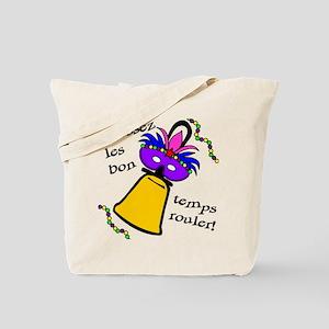 Mardi Gras Masked Bell Tote Bag