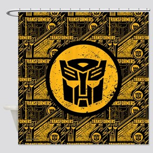 Transformers Autobot Shower Curtain