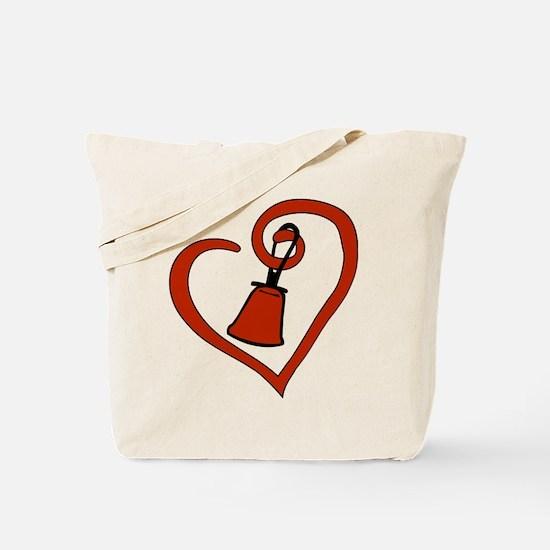 Unique Handbell Tote Bag