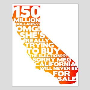 Meg Buys California Small Poster