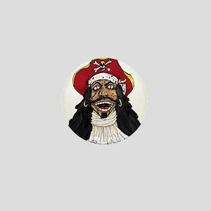 Pirate Captain Mini Button