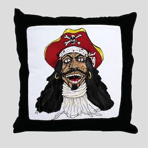 Pirate Captain Throw Pillow