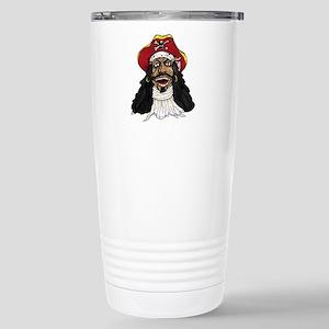 Pirate Captain Stainless Steel Travel Mug