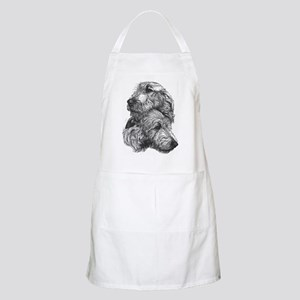 Irish Wolfhound Pair Apron