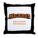 Machinist / Metals Throw Pillow