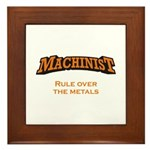 Machinist / Metals Framed Tile