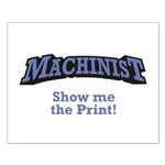 Machinist / Print Small Poster
