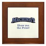 Machinist / Print Framed Tile