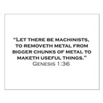 Machinist / Genesis Small Poster