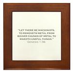 Machinist / Genesis Framed Tile