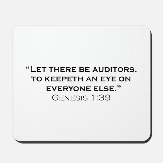 Auditors / Genesis Mousepad