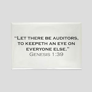 Auditors / Genesis Rectangle Magnet