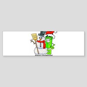 Mr. Deal - Christmas- Cash Ac Sticker (Bumper)