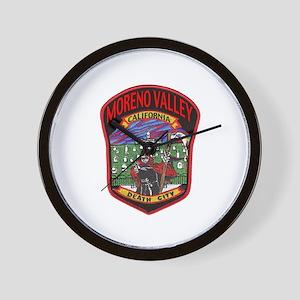 Moreno Valley Death City Wall Clock