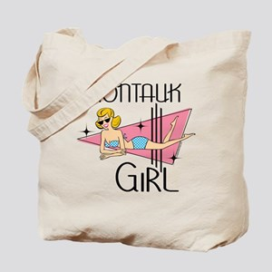 Montauk Girl Tote Bag