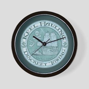 Keel Hauling Wall Clock