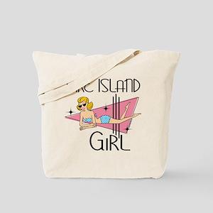 Fire Island Girl Tote Bag