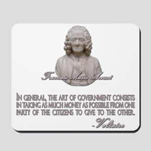 Voltaire on the Art of Govern Mousepad