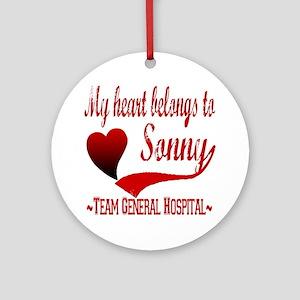 General Hospital Sonny Ornament (Round)