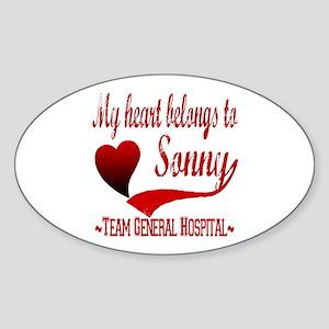 General Hospital Sonny Sticker (Oval)