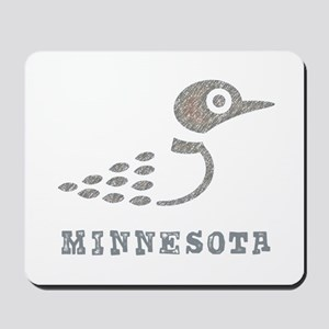 Minnesota Loon Mousepad