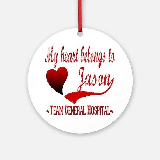 General Hospital Jason Ornament (Round)