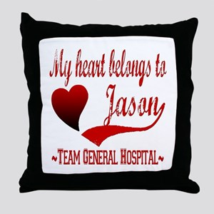 General Hospital Jason Throw Pillow