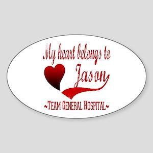 General Hospital Jason Sticker (Oval)