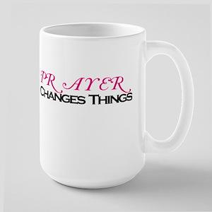 """""""Prayer..."""" Large Mug"""