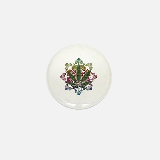 420 Graphic Design Mini Button