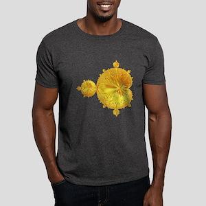 Mandelbrot Sun Fractal Black T-Shirt