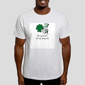 Interactive Leprechaun Ash Grey T-Shirt