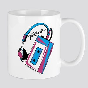Footloose Cassette 11 oz Ceramic Mug