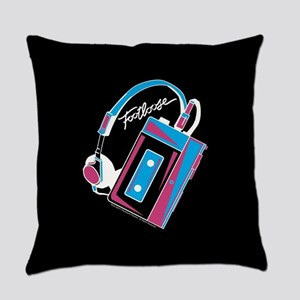 Footloose Cassette Everyday Pillow