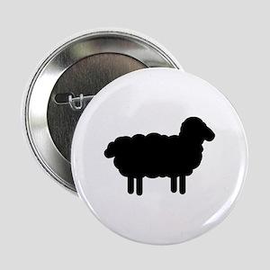 "Black sheep 2.25"" Button"