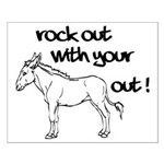 Rock Out With Your Ass Out ! Small Poster