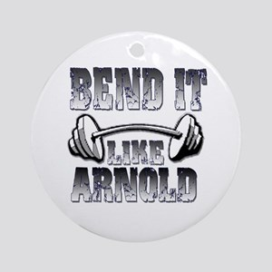 Bend it Ornament (Round)
