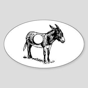 Asshole Sticker (Oval)