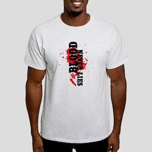 Dexter: Blood Never Lies Light T-Shirt