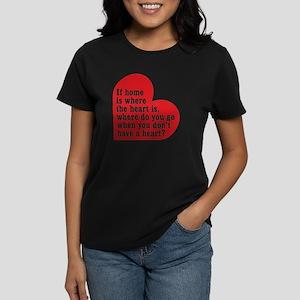 Dexter: Home Heart Women's Dark T-Shirt
