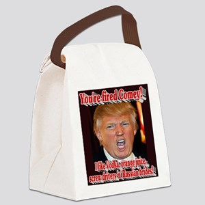 You're Fired Comey! Canvas Lunch Bag